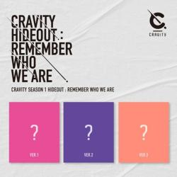 CRAVITY - HIDEOUT : REMEMBER WHO WE ARE [CRAVITY SEASON1/3種のうち1種ランダム発送]