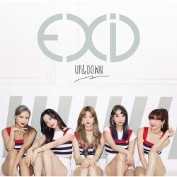 EXID - UP&DOWN[JAPANESE VERSION]【通常盤】