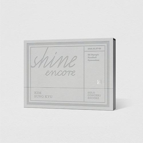 キム・ソンギュ(INFINITE) - KIM SUNG KYU SOLO CONCERT [SHINE ENCORE] DVD (2Disc)