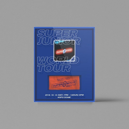 SUPER JUNIOR - SUPER JUNIOR WORLD TOUR [SUPER SHOW 8 : INFINITE TIME] KIT VIDEO