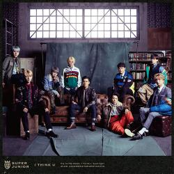 SUPER JUNIOR - 「I THINK U」(CD+Blu-ray)