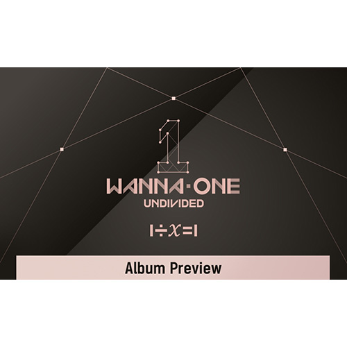 Wanna One - 1÷χ=1 (UNDIVIDED) [Special Album/Lean On Me ver.]