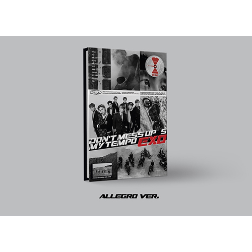 EXO - DON'T MESS UP MY TEMPO [正規5集/Allegro Ver. or Moderato Ver. or Andante Ver. ランダム]
