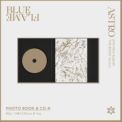 ASTRO - BLUE FLAME [6th Mini Album/The Book ver]