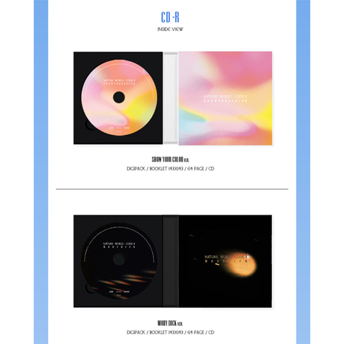 Nature - NATURE WORLD:CODE A [2nd Mini Album/Show Your Color Ver]