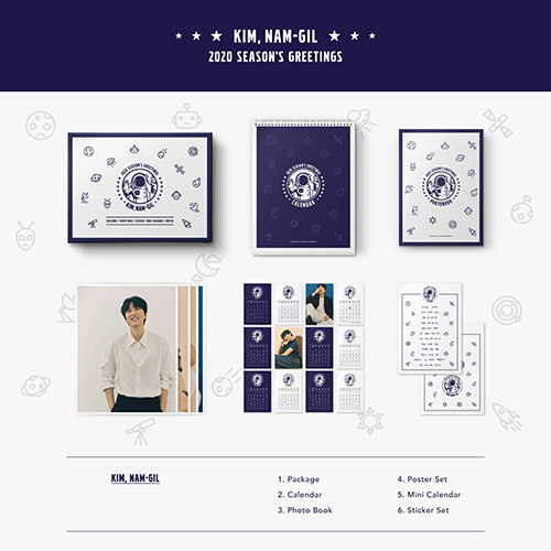 [50%OFF]2020 KIM NAM-GIL SEASONS GREETINGS