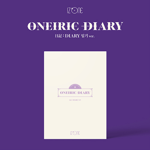 IZ*ONE - ONEIRIC DIARY[3rd Mini Album/日記Ver.]