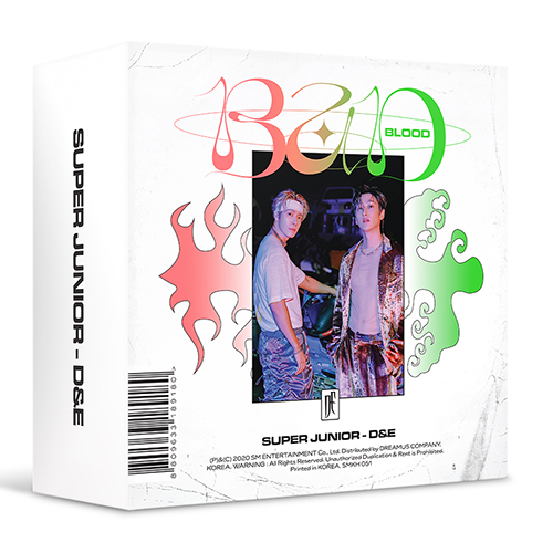SUPER JUNIOR D&E - BAD BLOOD [4th Mini Album/kit Album]