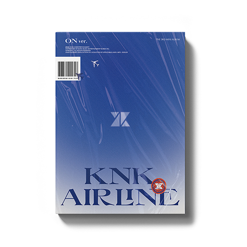 KNK(クナクン) - KNK AIRLINE [3rd Mini Album/ON Ver.]