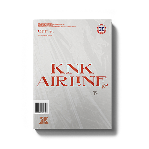 KNK(クナクン) - KNK AIRLINE [3rd Mini Album/OFF Ver.]