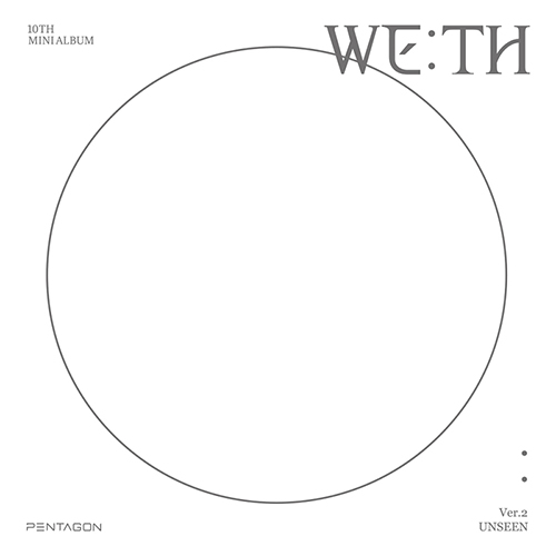PENTAGON - WE:TH [10th Mini Album/UNSEEN ver.]