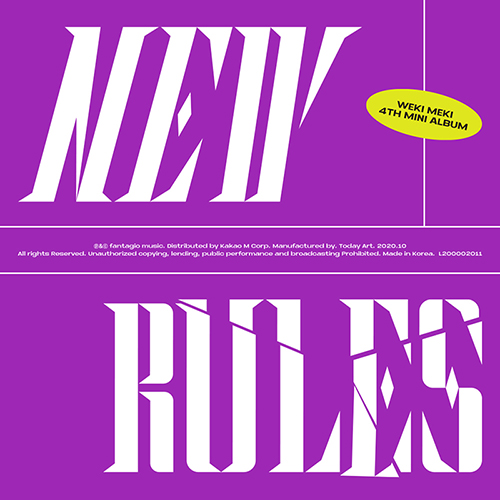 WEKI MEKI - NEW RULES [4th Mini Album/Break Ver.]