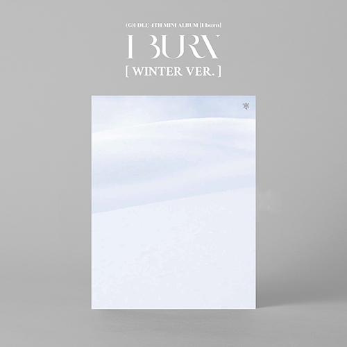 (G)I-DLE - I BURN [4th Mini Album/WINTER ver.]