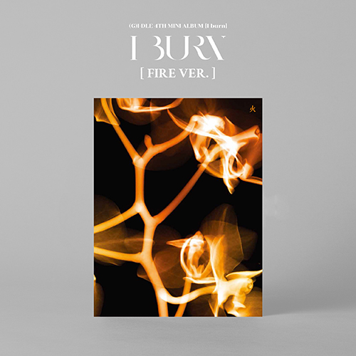 (G)I-DLE - I BURN [4th Mini Album/FIRE ver.]