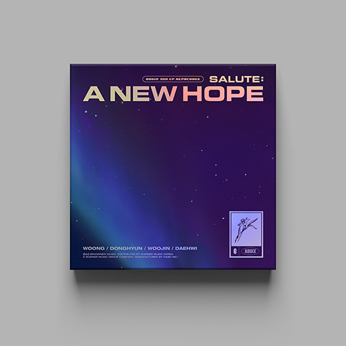 AB6IX - SALUTE : A NEW HOPE [3rd EPリパッケージ/HOPE Ver.]