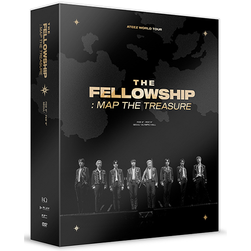ATEEZ - ATEEZ WORLD TOUR [THE FELLOWSHIP : MAP THE TREASURE] SEOUL DVD (2Disc)