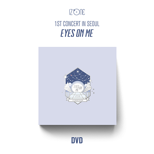 IZ*ONE - 1ST CONCERT IN SEOUL [EYES ON ME] DVD (3DISC)