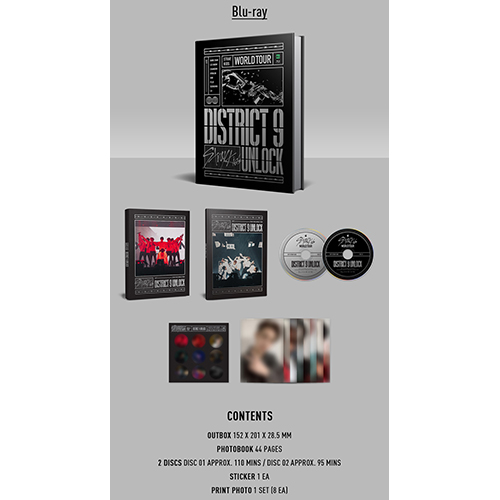 Stray Kids - World Tour [District 9:Unlock] in SEOUL Blu-ray (2DISC)
