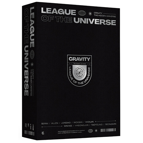 CRAVITY - LEAGUE OF THE UNIVERSE(1DVD)