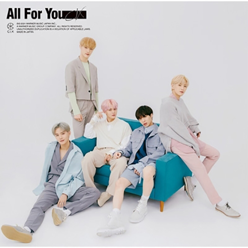 CIX - All For You【通常盤B】